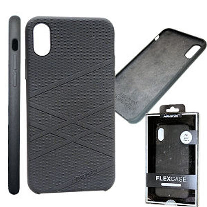Picture of NILLKIN FLEX CASE IPHONE X CZARNY
