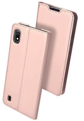 Obrazek POK Dux Ducis Skin Leather SONY L2 light pink