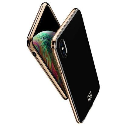 Picture of SPIGEN LA MANON iPHONE XS MAX GOLD BLACK