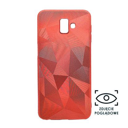 Obrazek Pokrowiec 3D Diamond Hua P30 Pro czerwony
