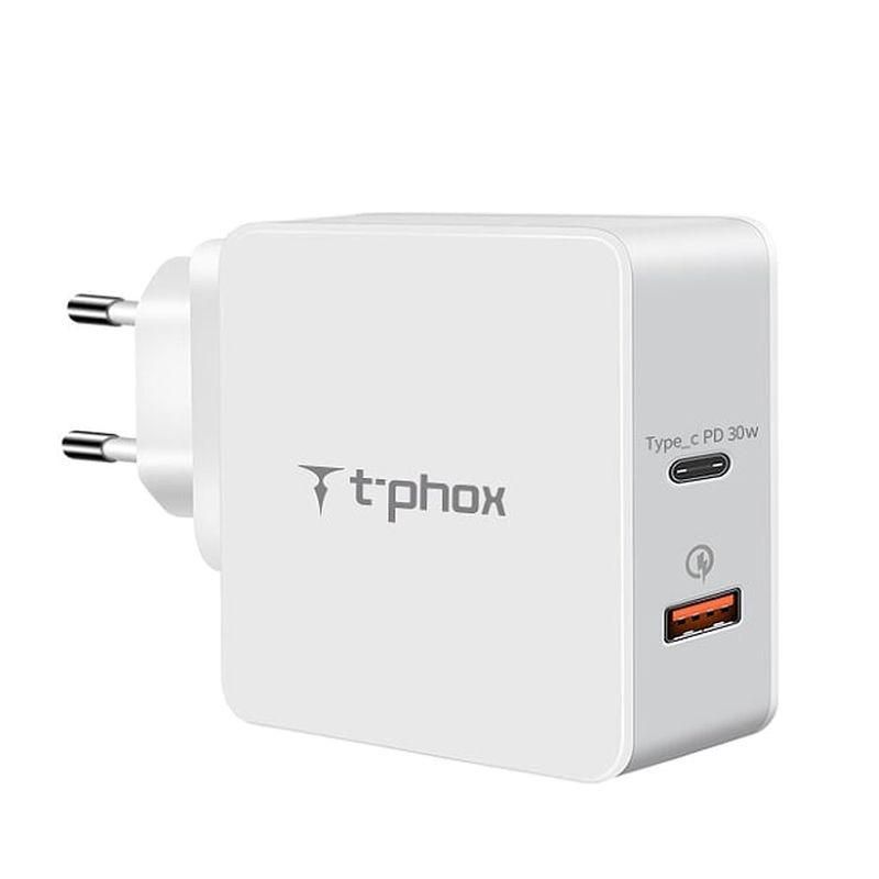 Obrázek ADAPTER SIECIOWY T-PHOX APACE 48W PD WHITE