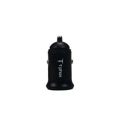 Obrazek ADAPTER SAM T-PHOX ZEGA BLACK 2X USB 3.1A