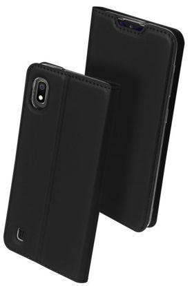 Picture of POK Dux Ducis Skin Leather IPHONE 12 PRO (6,1), BLACK / CZARNY