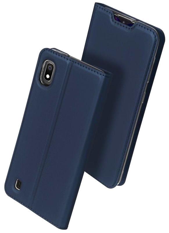Obrázek POK Dux Ducis Skin Leather SAM S21+ DARK BLUE / GRANATOWY