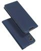 Obrázek POK Dux Ducis Skin Leather SAM S21 ULTRA DARK BLUE / GRANATOWY